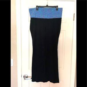 Black Blue Athletics Sport Straight Leg Pants XL
